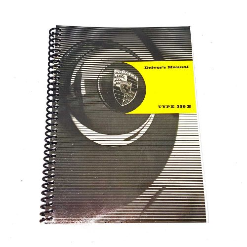 Porsche 356B Drivers Manual T6 Bodied