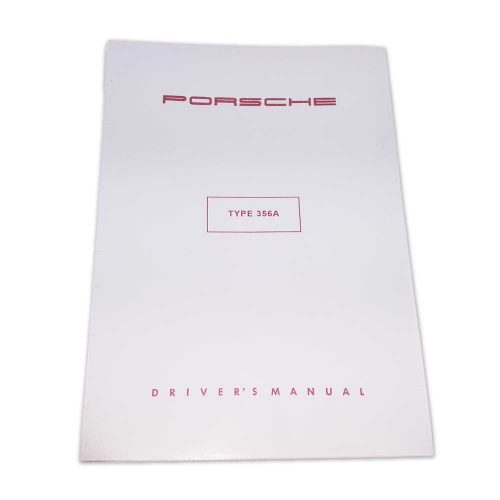 Porsche Type 356A Drivers Manual