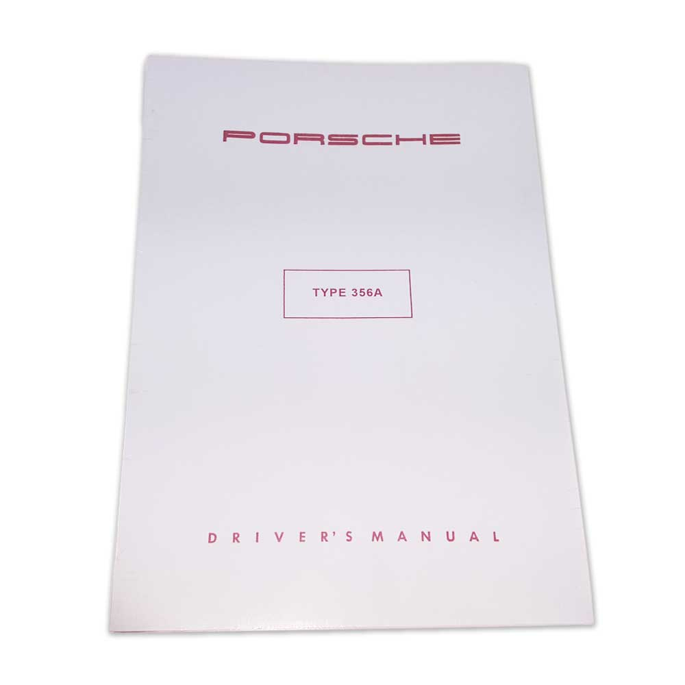 Drivers Manual - Porsche Type 356A