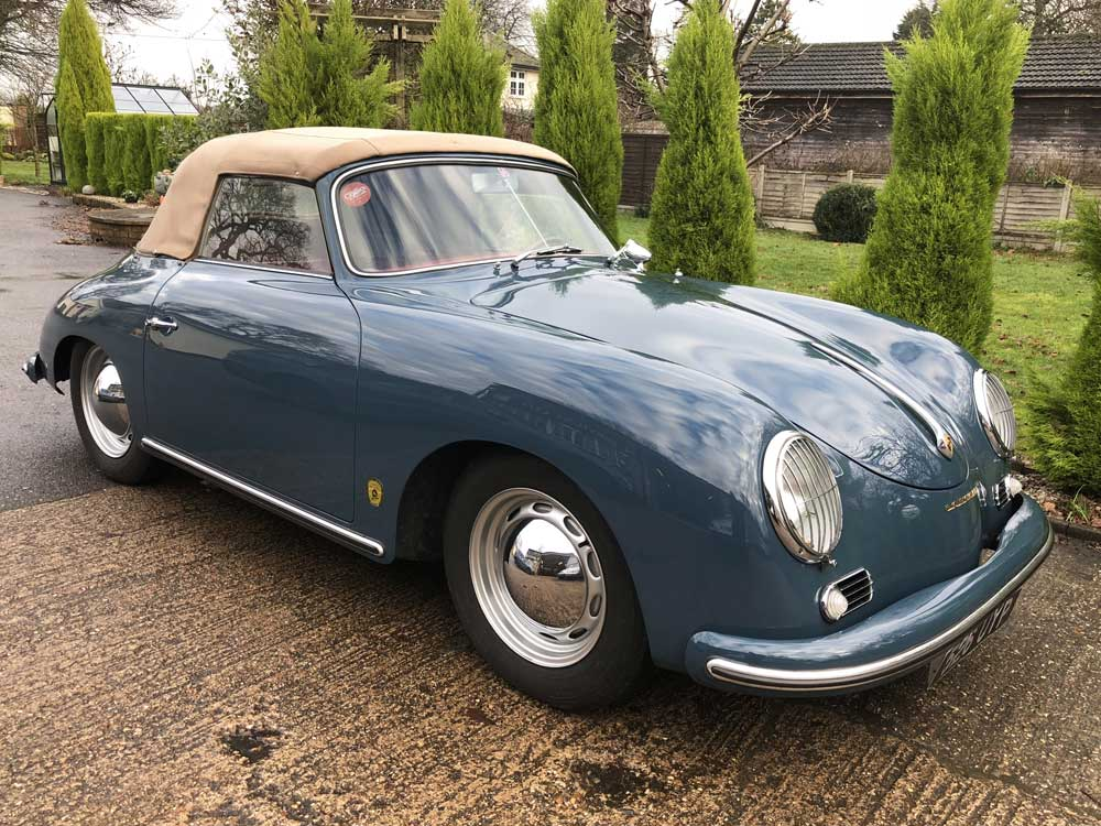 Porsche 356 Cab for sale