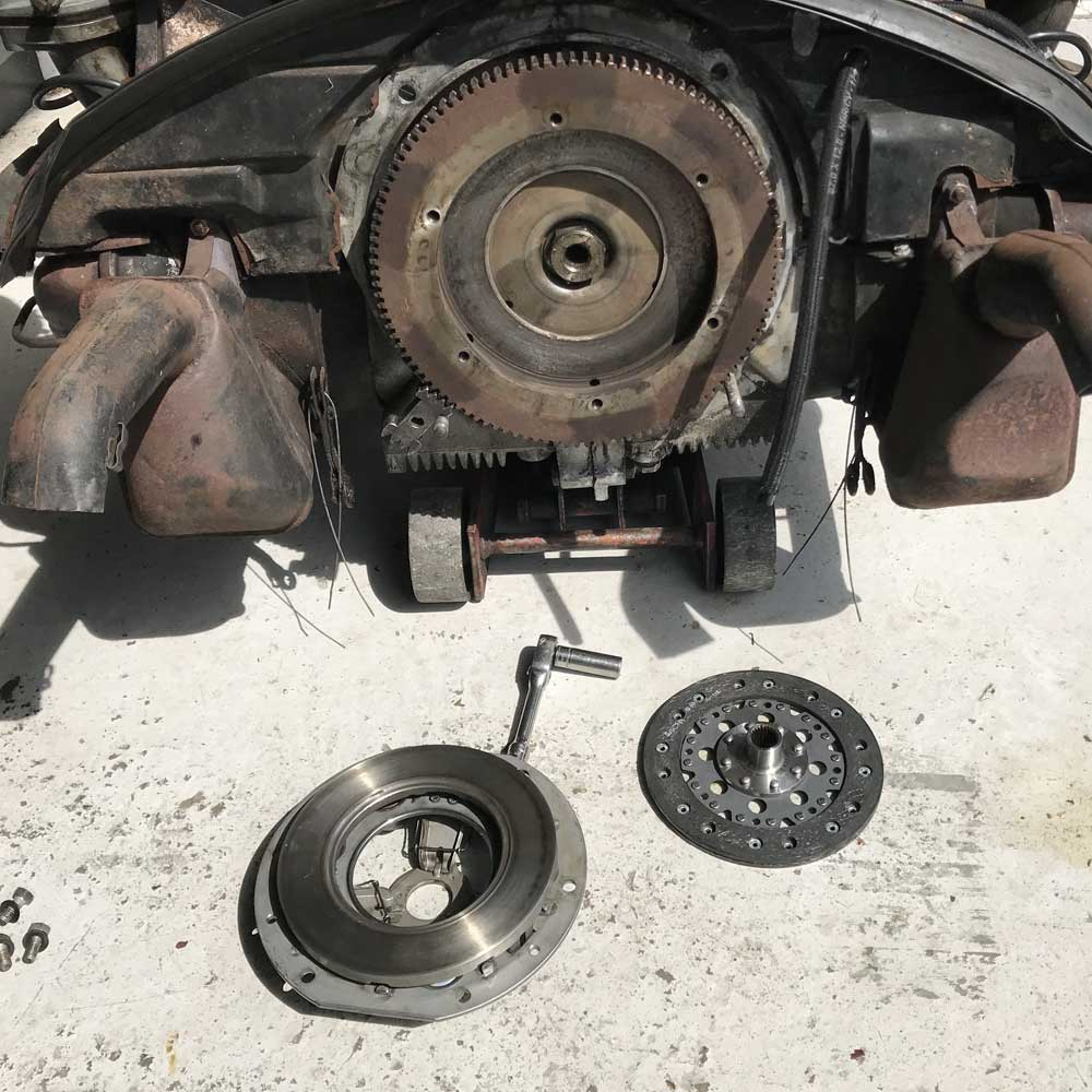 Porsche 356 Clutch Replacement