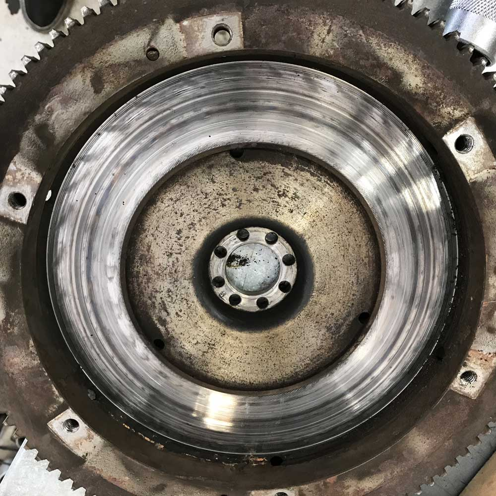Porsche 356 Worn 180mm Flywheel