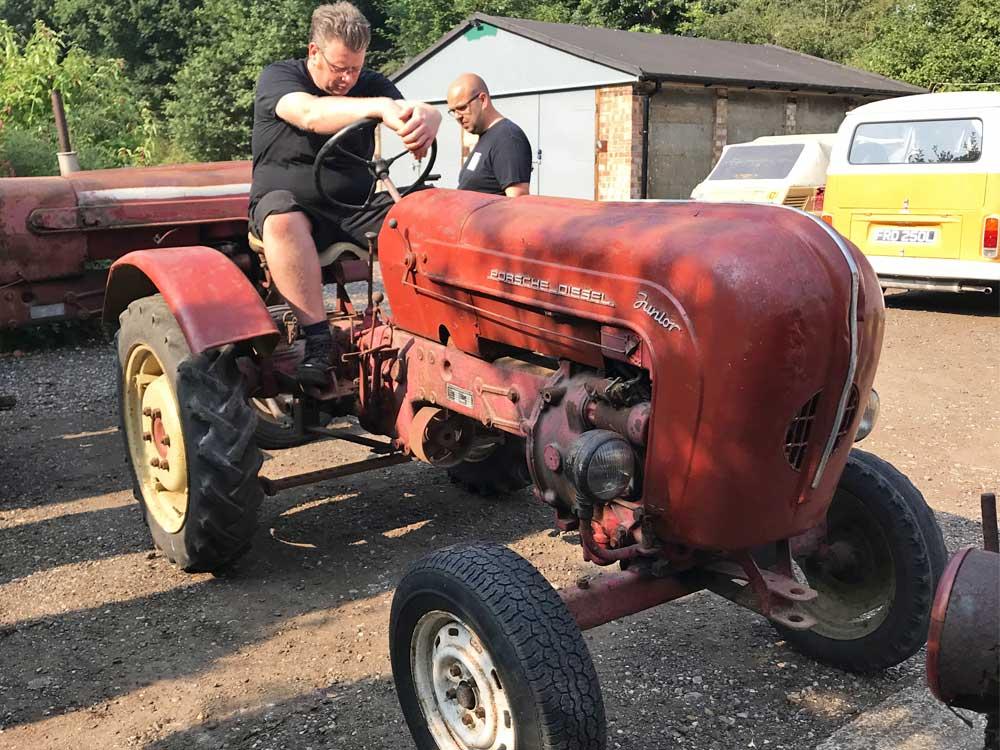 Classic Porsche tractor for sale