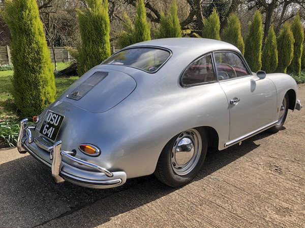 Silver Porsche 356 1958 T2 A Coupe For Sale