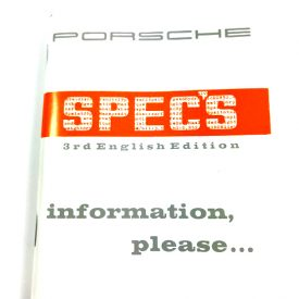 Technical Specifications Book  - For all 356