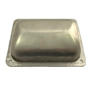Battery Box Bowl Repair Panel (Aluminium) - 356A, 356B T5