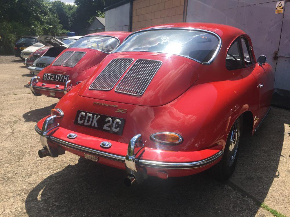 Porsche 356 1964 SC RHD COUPE