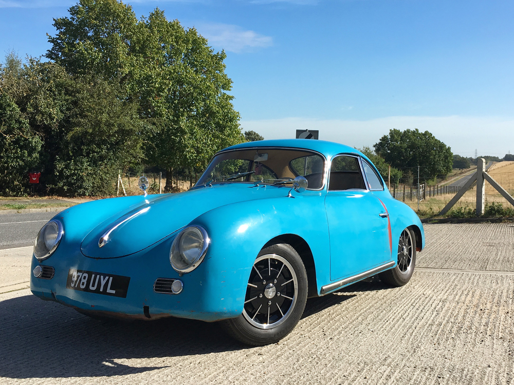 Porsche 356 A Rat Look Blue