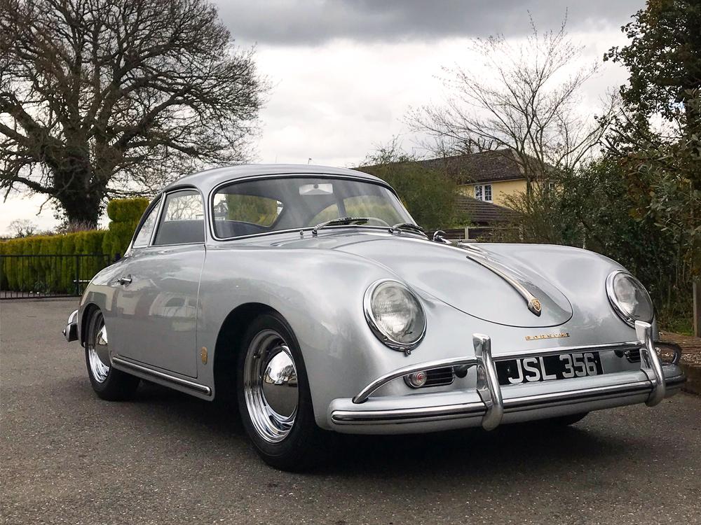 Porsche 356A Silver