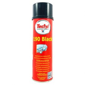 TECTYL 190 Black - Overpaintable Stone Chipping Protection - 500ml aerosol