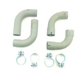 Exhaust Tailpipe & Clamps (Dansk) - 356A