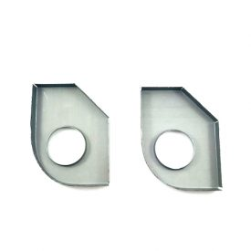 Heater Tube Support Brackets / Longitudinal Reinforcement Plates, Right (Simonsen Panel) - 356B T6, 356C