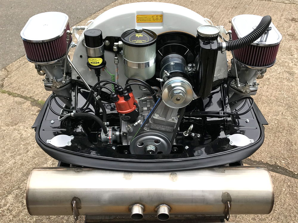 Fully Restored Porsche 356 Engine
