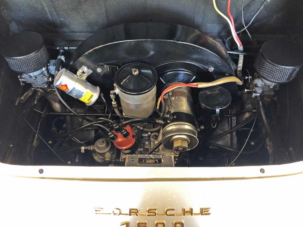 Porsche 356 T1 A Engine Bay