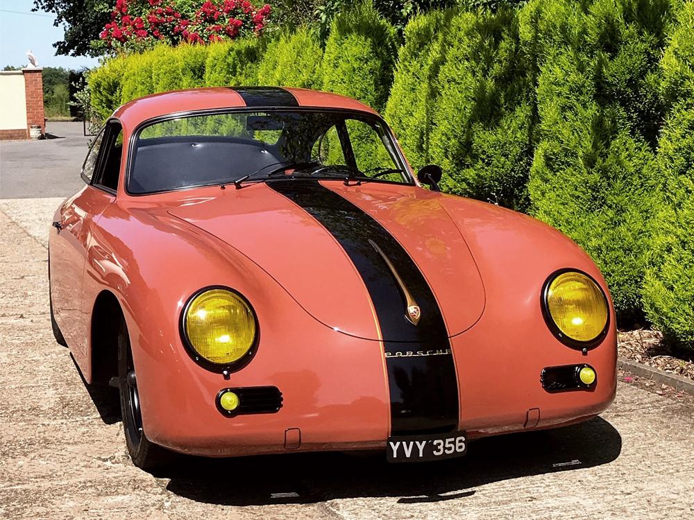 Porsche 356 Phil Jarvis