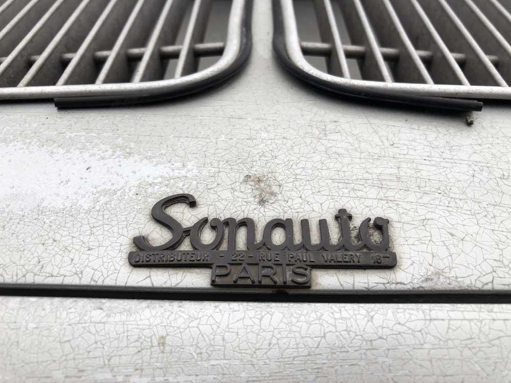 Porsche 356 Sonauto Badge