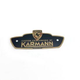 Karmann Badge - For Karmann Bodied 356BT5 and 356BT6.