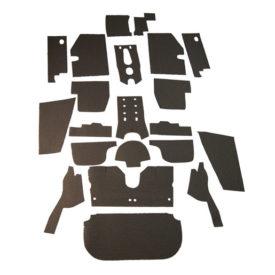 Sound Deadening / Insulation Kit (Complete Interior Body) - 356B T5 Cabriolet