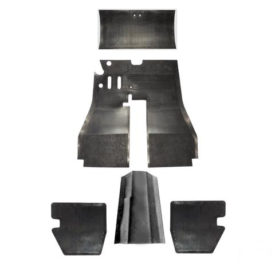 Floor Mat Rubber, Complete Set - 356A T1