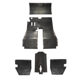 Floor Mat Rubber, Complete Set - 356BT5