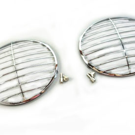 Headlight Stone Guard Grille (Pair), Speedster Style