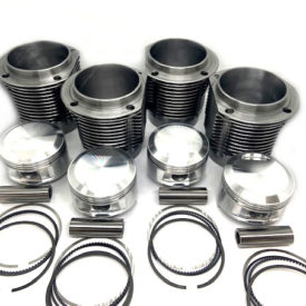 Barrels / Liners and Pistons Kit 86mm Big Bore (1720cc) - Shasta Design