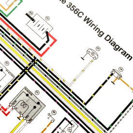 Wiring Diagram 1964-1965 356C/SC  - Repair Manual Style