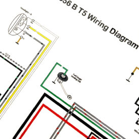 Wiring Diagram, 1960-1961 356BT5
