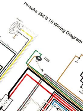 Wiring Diagram, 1962-1963 356BT6