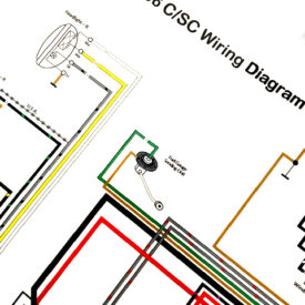 Wiring Diagram 1964-1965 356C/SC