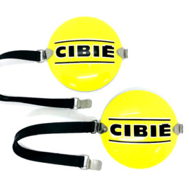 Cibie Rally Spot / Driving Light Cover / Shroud - Yellow, (Metal)
