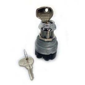 Ignition Barrel Switch, Series K100 (Bullet-Style) with 2 New Keys - 356