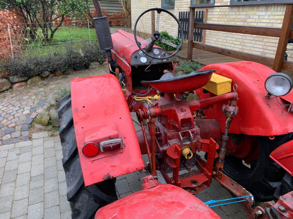 red tractor for sale