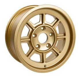 "Group 4 Wheels, PAG1690 Satin Gold 16 x 9"""