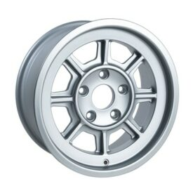 "Group 4 Wheels, PAG1670 Satin Silver 16 x 7"""