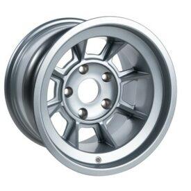 "Group 4 Wheels, PAG1510P Satin Silver 15 x 10"""