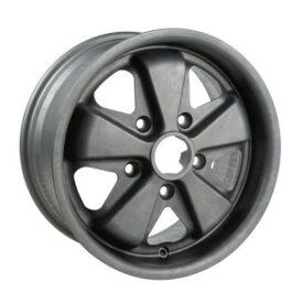 Group 4 Wheels, DP7R Bare Aluminium 15x7 ET49