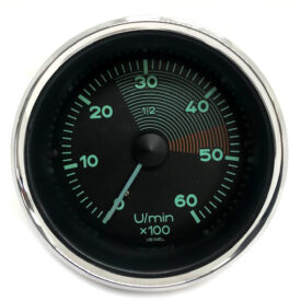 Veigel Tachometer (Date 04/54) (Rebuilt, Used Original) - 356 Pre A