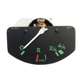 Gauge, Fuel / Petrol, 6 Volt with Reserve Dial