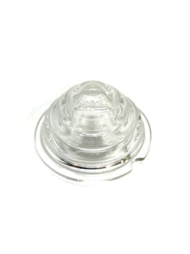 Indicator / Turn Signal, Shallow Clear Light Lens in Glass - 356, 356A